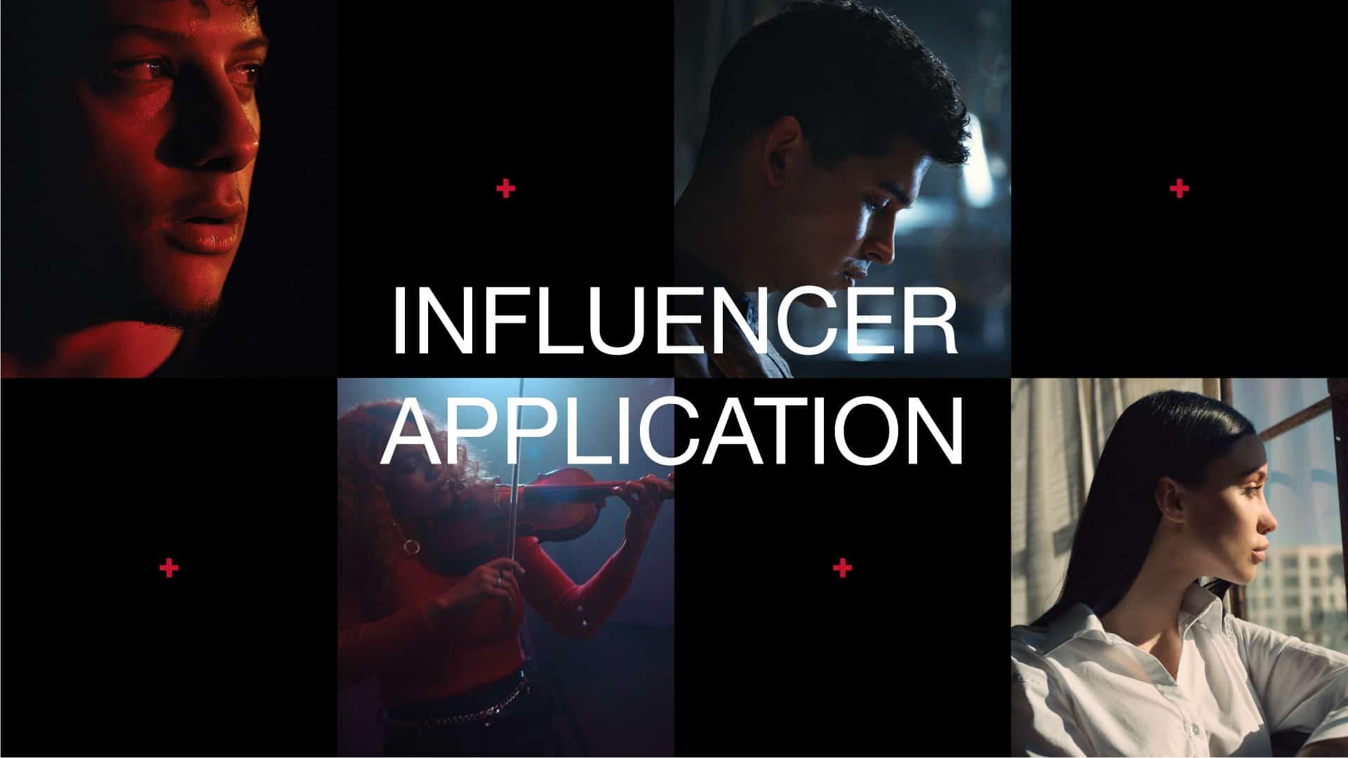 Influencer Application