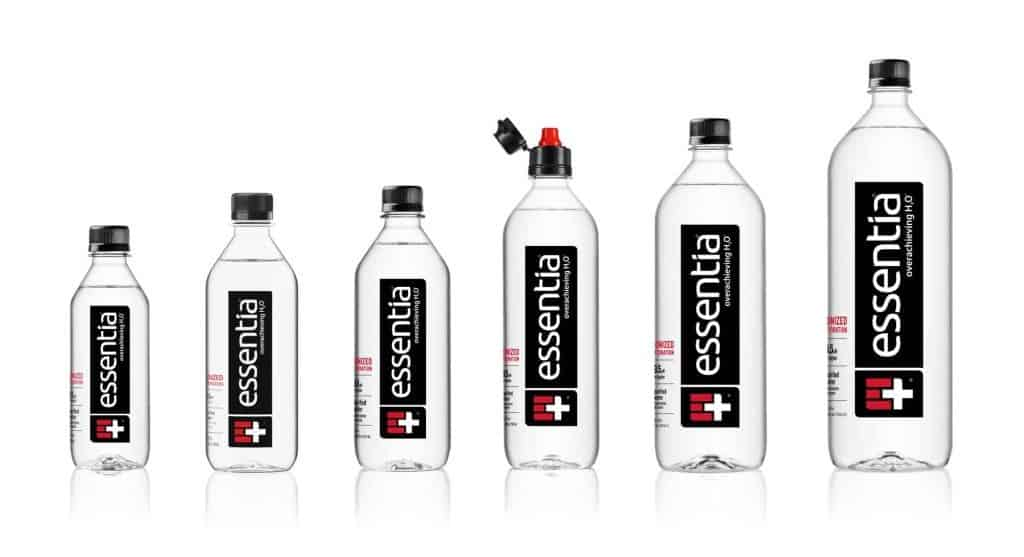 Essentia Water Product Lineup