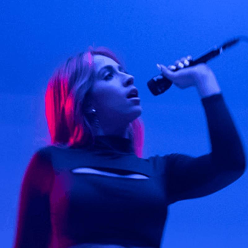 Tate McRae singing